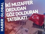 Türkiye ile Azerbaycan ordularından ortak tatbikat!