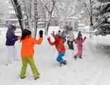 Kar yağışı nedeniyle yüz yüze eğitime ara verildi!