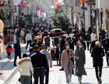 Bu fotoğraf İstanbul'dan... Sokağa çıkma kısıtlaması var!