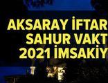 Aksaray imsakiye 2021