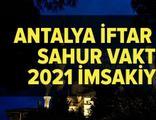 Antalya imsakiye 2021