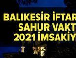 Balıkesir imsakiye 2021