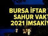 Bursa imsakiye 2021