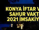 Konya imsakiye 2021