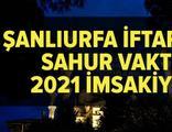 Şanlıurfa imsakiye 2021