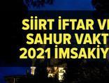 Siirt imsakiye 2021
