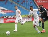 Trabzonspor galibiyeti uzatma dakikalarında kaçırdı