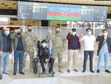 12 Azerbaycanlı gazi tedavi için Türkiye'ye gönderildi