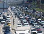 82 saatlik kısıtlama öncesi trafik yoğunluğu