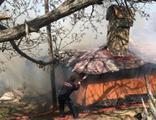 Evde yangın çıktı! 25 bin lira kül oldu