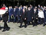 23 Nisan'da devlet erkanı Anıtkabir'de