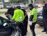 Polisin 'Dur' ihtarına uymayan sürücü gözaltına alındı