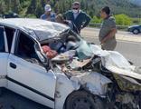 Kahramanmaraş'ta korkunç kaza! Aynı aileden 4 kişi öldü