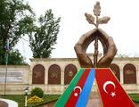 """Guba'da """"Türkiye-Azerbaycan Kardeşlik Parkı"""" açıldı"""