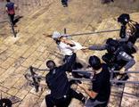 Mescid-i Aksa'da zulüm bitmiyor! Saldırılar yeniden başladı