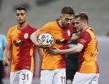 Galatasaray sezonu galibiyetle kapattı