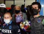 Gervinho ve Peres, Trabzon'a geldi
