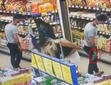 Gizlice fotoğraf çeken market sapığı yakalandı