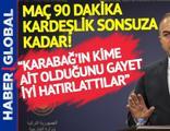 Mevlüt Çavuşoğlu'ndan Türkiye Azerbaycan maçı sonrası kardeşlik mesajı!