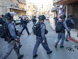 İsrail polisinden Kudüs'te Filistinlilere saldırı!