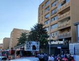 Cerrahpaşa Tıp Fakültesi Hastanesi yerleşkesinde yangın