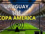 Uruguay Şili maçı CANLI İZLE