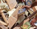 Yıkılan kitapçı için tüm dünyadan bağış yağdı