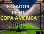 Ekvador Peru maçı CANLI İZLE