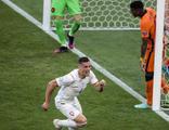 Hollanda'yı deviren Çekya çeyrek finalde