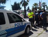Polislerle tartışan kargo çalışanı gözaltına alındı