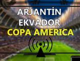 Arjantin Ekvador maçı CANLI İZLE