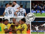 Bir yanda Arjantin - Brezilya diğer yanda İtalya - İngiltere