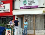 HDP binasına saldıran 1 kişi gözaltına alındı