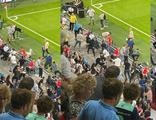 PSV - Galatasaray maçının devre arasında gerginlik