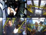 Yolcular fenalaştı, şoförler hastaneye yetiştirdi