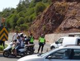 Marmaris- Datça karayolu trafiğe kapatıldı
