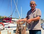 Balıkçılar deniz altındaki müsilajdan şikayetçi