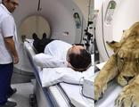 İzmir'de hastanede aslan şoku! Tomografide görünce...