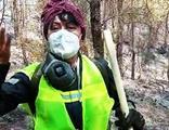 Ünlü oyuncu Bayri: Ormanları yakanları unutmayalım