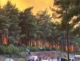 Kavaklıdere yangını da kontrol altına alındı