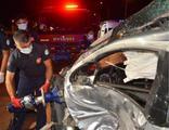 Adana'da korkunç kaza: 1 ölü, 3 yaralı