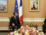Macron, Barzani ile görüştü!