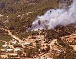 Antalya'nın iki ilçesinde orman yangını