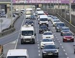 Okul servisleri yola çıkınca trafik yoğunluğu yüzde 71 oldu