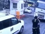 El frenini çekmeyi unuttuğu kamyon faciaya neden oluyordu