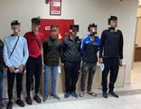 TEM Otoyolu'nda durdurulan araçtan 7 kaçak göçmen çıktı