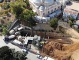 Sancaktepe'de metro inşaatında göçük