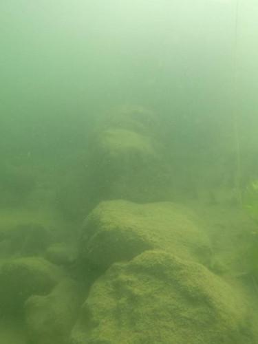 Ordu'da su altında kilise kalıntıları bulundu