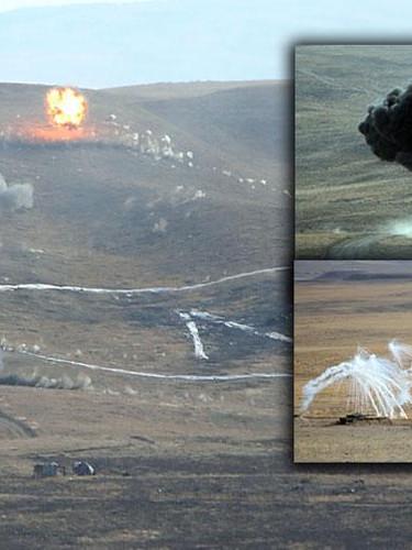 TSK'dan gövde gösterisi...  Yerli silahlar ilk kez kullanıldı, hedefler nokta atışıyla vuruldu!