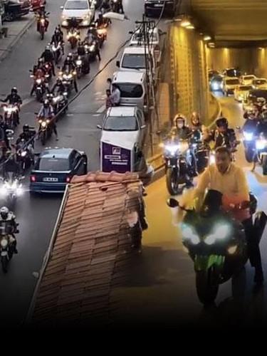 İstanbul'da terör estirip paylaştılar! Polis onları arıyor